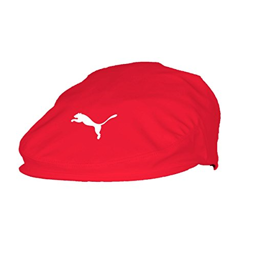 (PUMA Golf 2017 Men's Tour Driver Cap (High Risk Red, Small/Medium))