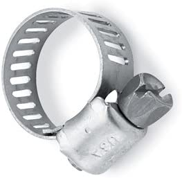 Helix 111-6224 stainless steel hose clamps 26-51mm 10//pk 111-6224