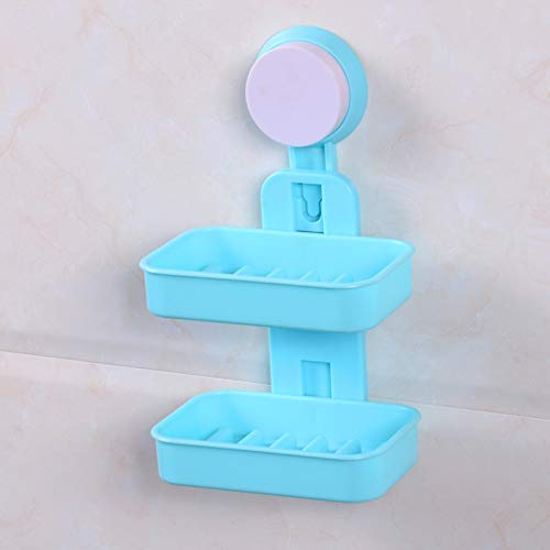 Simple Plastic Single Layer Soap Box Drain Toilet  Large Soap Dish Box With Lid