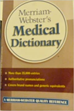 Download Merriam-webster Medical Dictionary Refrence Guide Book PDF, azw (Kindle)