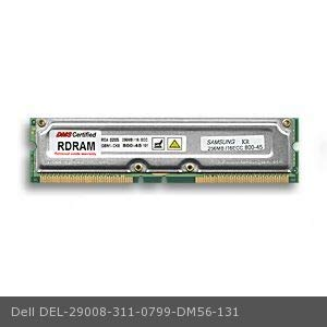 - DMS Compatible/Replacement for Dell 311-0799 Precision Workstation 420 512MB DMS Certified Memory ECC 800MHz PC800 184 Pin RIMM (RDRAM) - DMS