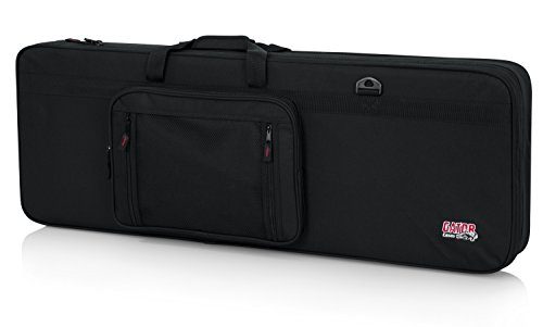 Gator Cases Lightweight Polyfoam Guitar Case fits Stratocaster and Telecaster Style Electric Guitars (GL-ELECTRIC)