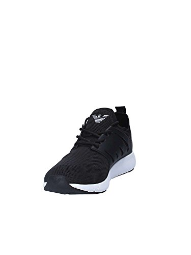 new products 13418 b55ee Minimal Negro Runner Ea7 Zapatillas Hombre IX7n76F
