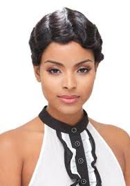 Janet Collection 100% Human Hair Wig MOMMY ()