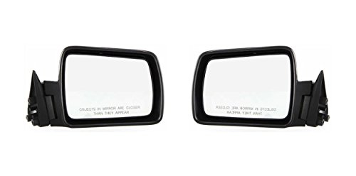 (CPP Left & Right Side PTM Non-Heated Mirror for Jeep Cherokee, Comanche, Wagoneer)