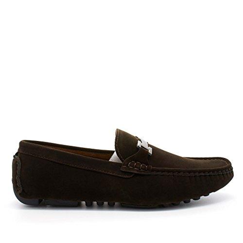 London Footwear - Sandalias con cuña hombre Marrón - marrón