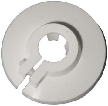 windyday 304 Edelstahl Glasklemme Stainless Steel Klemmhalter Glasklemmhalter Glashalter Gel/ände Flach Anschluss Glass Clip f/ür 8-15 mm Glas