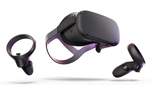 Oculus Quest All-in-one VR Gaming Headset - 128GB (Best Case In The World)