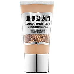 Buxom Show Some Skin Weightless Foundation SPF 30 - In The Buff - cool pink for light skin tones 1.5 oz, - Cool Tone Skin