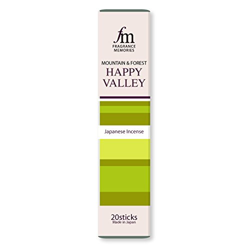 Happy Valley - Cactus, Pine, Lime - Nippon Kodo Fragrance Memories Incense -
