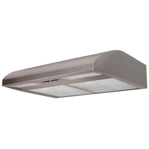 Air King AB36SS Essence Series Under Cabinet Range Hood with Dual Halogen Lights, 36'' by Air King