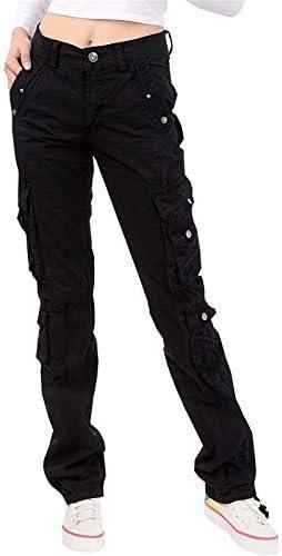 NAWONGSKY Women's Utility Cargo Pants