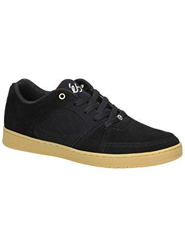 Es Mens Accel Slim Skate Schoen Zwart / Gom