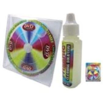 Player Cleaning Disc Cd (Trisonic CD/DVD/CD-ROM Laser Lens Cleaner-Liquid Included)