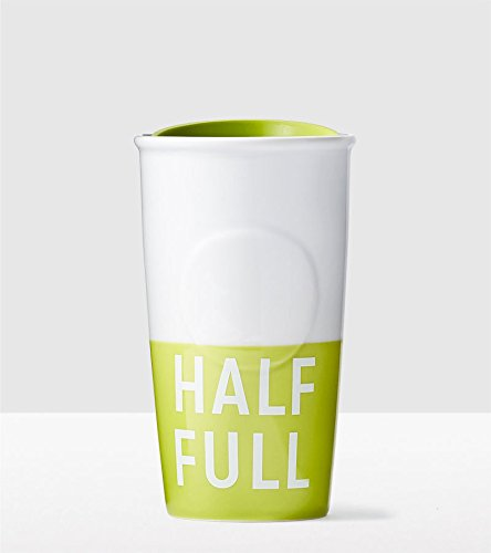 Starbucks Half Full Double Wall Traveler Ceramic Mug - Half Full Glass