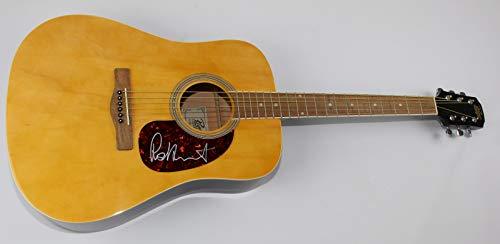 rod stewart signed guitar