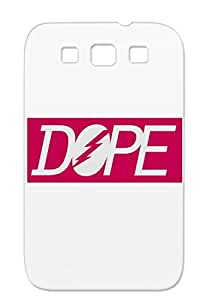 Dustproof Swag Swagg Icons Dope Swagger Symbols Shapes Fresh Cool DOPENESS Pink Case Cover For Sumsang Galaxy S3 Dope