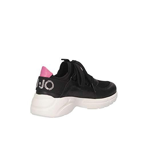 Liu L4a4 Sneakers Girl jo Donna Nero 0656 20349 nwqf8prxaw