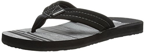 Grey Sandal Black Black Point 3 Art Carver Suede Mens Quiksilver gqf4wZHZ