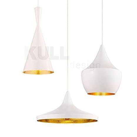 Conjunto de lámparas de techo Beat Style Blancas. Inspiradas ...