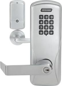 Schlage CO-100-993R-70 Offline Exit Trim Mortise Classroom/Storeroom Electronic Lock (Full Size Inte ()