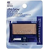 Maybelline New York Ultra-Brow Brow Powder, Shade #10, 0.1 Ounce (Pack of 3)