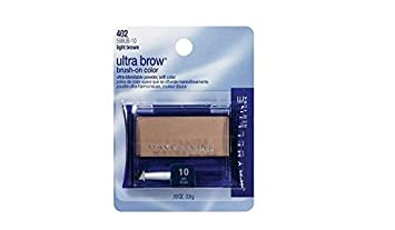 Maybelline New York Ultra-Brow Brow Powder, Shade 10, 0.1 Ounce Pack of 3
