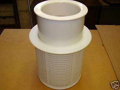 - Aqualine Skimmer Basket - American Skimmer B37 and Float B38 Two Pieces - Made in The USA - Made