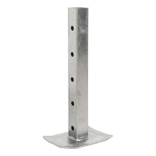 CURT 28962 Replacement Direct-Weld Square Jack Drop Leg