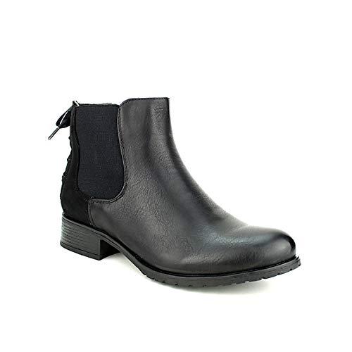 Sixth Chaussures Black Mode Sens Femme Bottine Cendriyon E47wqvE