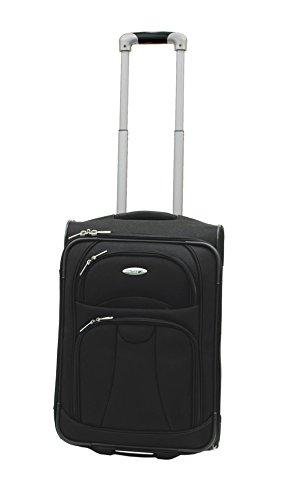 westjet-navigator-lightweight-luggage-cabin-trolley-20-black