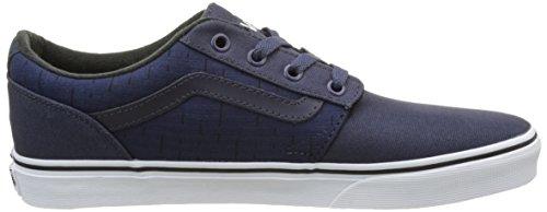 Vans Herren MN Chapman Stripe Sneaker Blau (S17 Textile)
