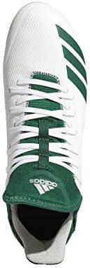adidas Icon 4 Cleat Men's Baseball 10 White-Dark Green White/Dark Green