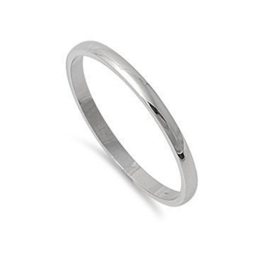 Stainless Steel Comfort Unisex Wedding