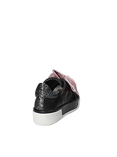 Janet Sport Donna Sneakers 42730 Nero frB0fRwq