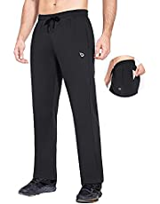 BALEAF Jogging Pants for Men Sweatpants Winter Thermal Pants Water Resistance with Pockets