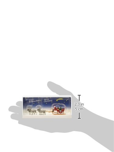 Preiser 30399 Christmas Sleigh Includes Santa Packages /& 4 Reindeer HO Model Figure MODELS11 INC