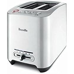 Breville BTA820XL Die-Cast 2-Slice Smart Toaster, 1.2-Inch Wide x 5.2-Inch Deep