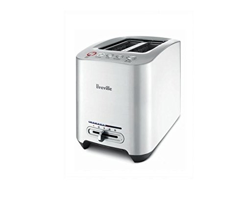 Breville BTA820XL Die-Cast 2-Slice Smart Toaster, 1.2-Inch Wide x 5.2-Inch Deep by Breville