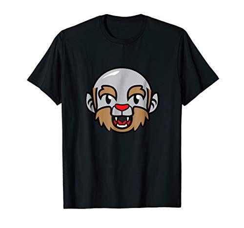 Bald Werewolf Funny Halloween Shirt for Bald Guys Costume -