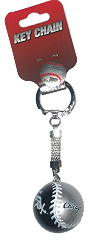 - Chicago Baseball Style Key Chain