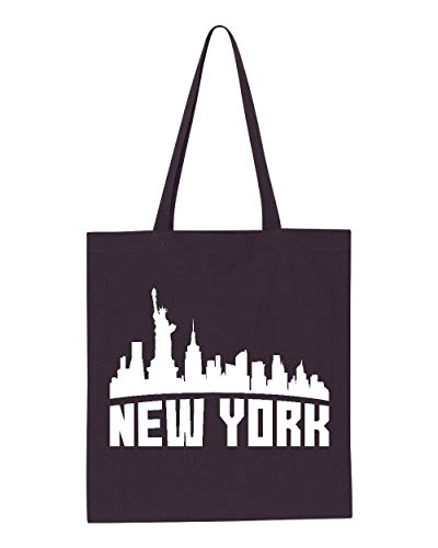 New York Most Visited US Cities Tote Handbags Bags for Work School Grocery Travel (GSN) -