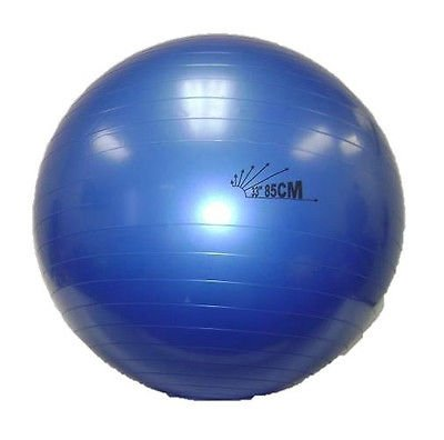 Physio Balance Yoga Fitness 85cm Gym Exercise 33″ Inflatable G Ball Swiss Pe New