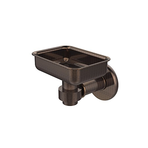 Allied Brass 2032-VB Continental Collection Wall Mounted Soap Dish Holder Venetian Bronze