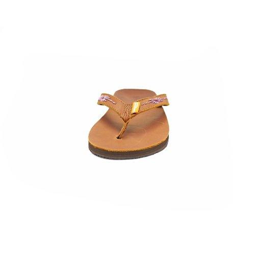 Feelgoodz Womens Embellished Slim Kinderz Leather Flip Flop Sahara 9SzrKuDP