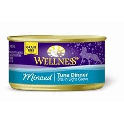 WELLPET, LLC - WELLNESS CAT DINNER MINCED TUNA Case 24/3OZ