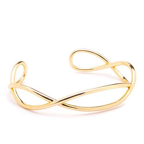 Timeless Forever Bracelets (Sophia Open Cuff Bracelet)
