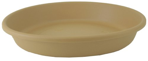 Akro Mils SLI12000A34 Classic Saucer for 12-Inch Classic Pot, Sandstone, 12.5-Inch