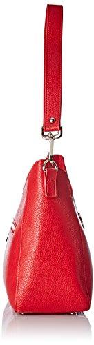 Christian Lacroix Damen Gador 3 Schultertasche, 30x24x12 cm Rot (Rouge)