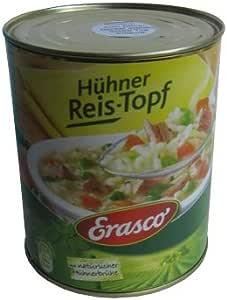 Weedness Erasco Hühner – Cazo de arroz, Lata de jabón, escondite ...